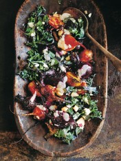 roast beetroot and brazil nut salad
