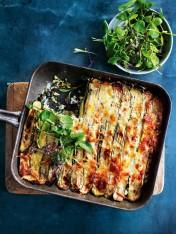 roasted zucchini lasagne