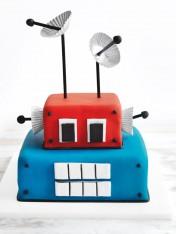 robbie the robot cake