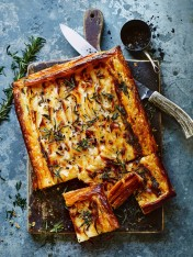 rosemary, mascarpone and potato tart