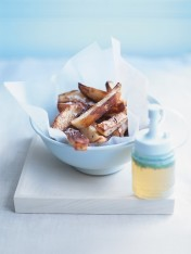 salt and vinegar chunky fries