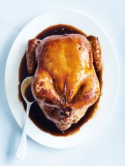 ginger and soy roast chicken