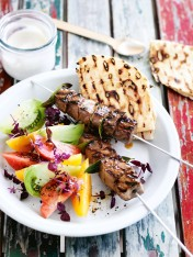 spiced lamb skewers