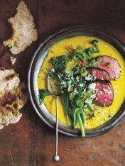spicy turmeric coconut curry with beef