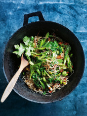 super green stir-fry