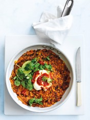 sweet potato and chilli hash brown