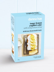 baking mix tangy lemon yoghurt cake