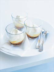 vanilla and passionfruit cups