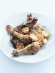 winter herb roasted chicken drumsticks