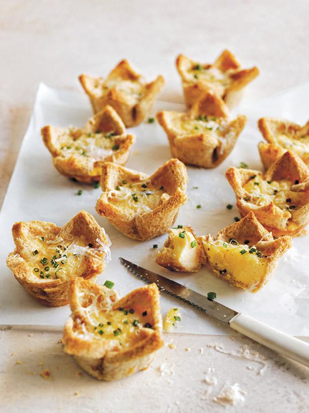 Bread Cup Quiches | Beanstalk Mums