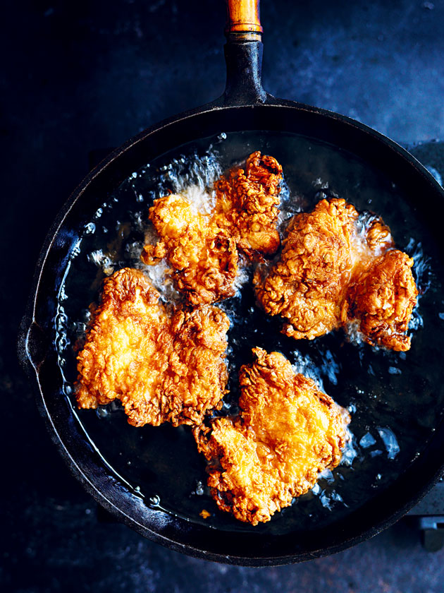 Basic Buttermilk Fried Chicken Donna Hay