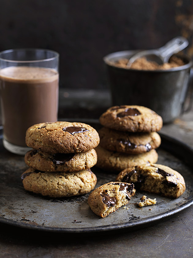 Chocolate Chip Cookies With Extra Virgin Olive Oil Donna Hay