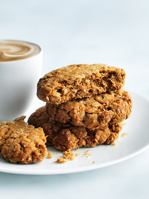 Ginger Oat Cookies Donna Hay