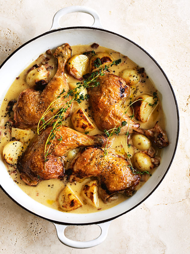 Honey Mustard Chicken And Potato Bake Donna Hay