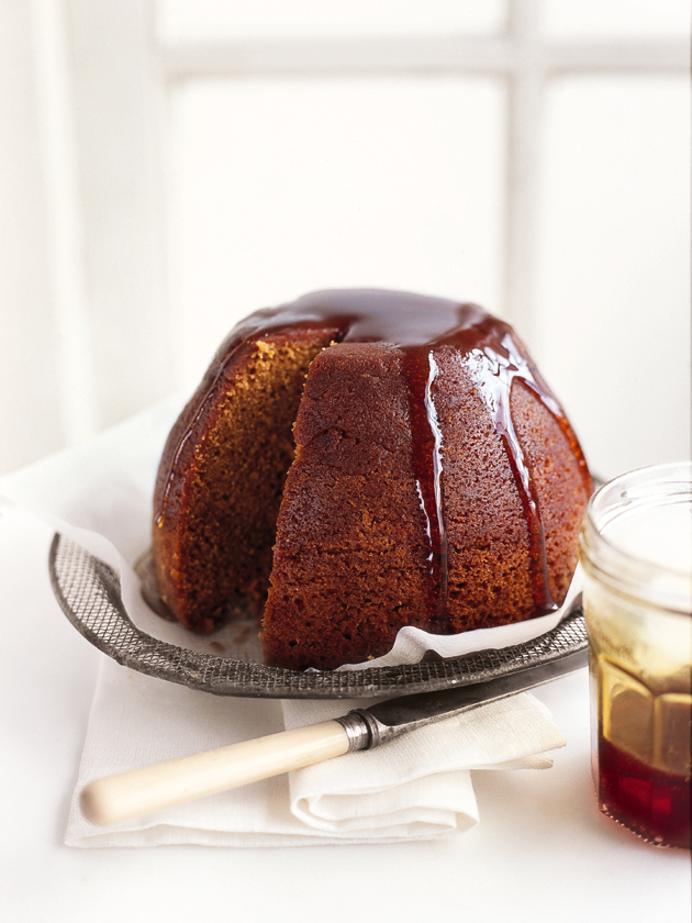 Steamed Treacle Pudding Donna Hay