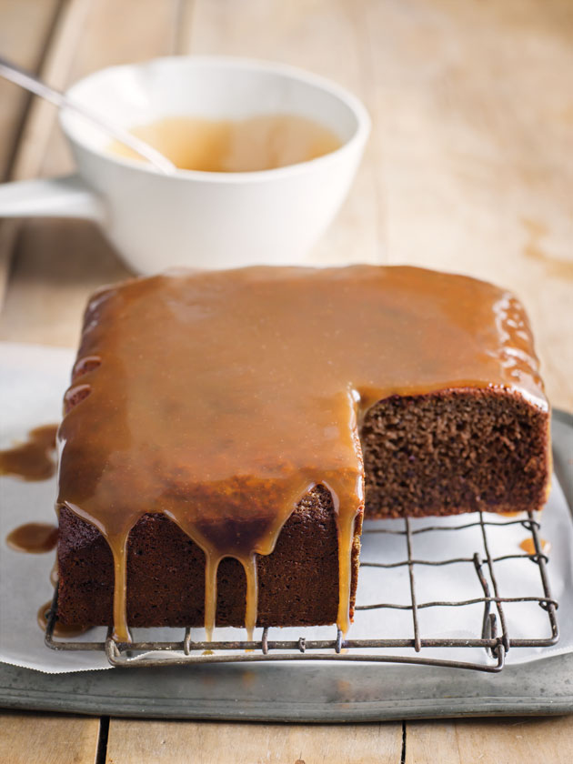 Sticky Date Cake With Toffee Sauce Donna Hay