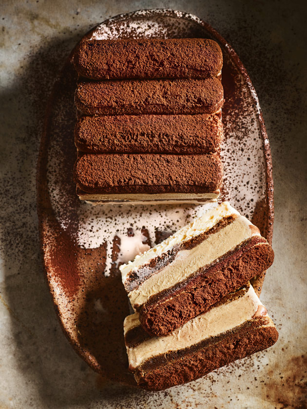 Tiramisu Ice Cream Layer Cake Donna Hay