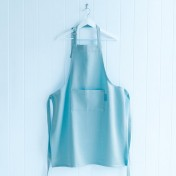 cotton adults' apron – blue