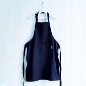 cotton adults' apron – indigo