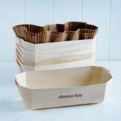 french wooden baking trays – large deep rectangular