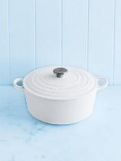 Le Creuset 24cm casserole in cotton