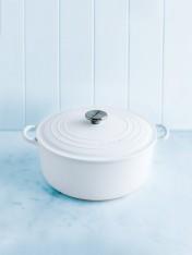 Le Creuset 26cm casserole in cotton