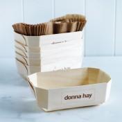 french wooden baking trays – medium deep rectangular