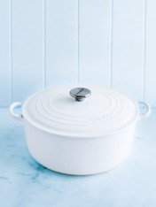 Le Creuset 28cm casserole in cotton
