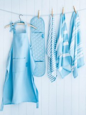 napery set – blue