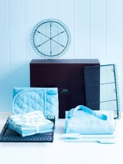 the baker's hamper - pale blue