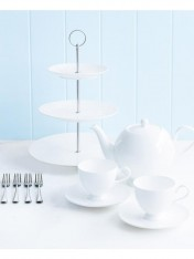 modern classic signature high tea set