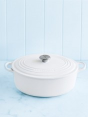 Le Creuset 29cm oval casserole in cotton