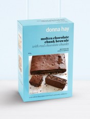 molten chocolate chunk brownie carton of 4