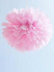 pom poms tissue medium – pale pink
