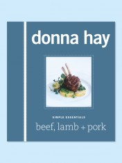simple essentials – beef, lamb + pork