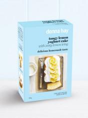 tangy lemon yoghurt cake