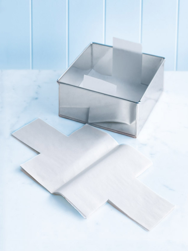 pre-cut parchment papers – square