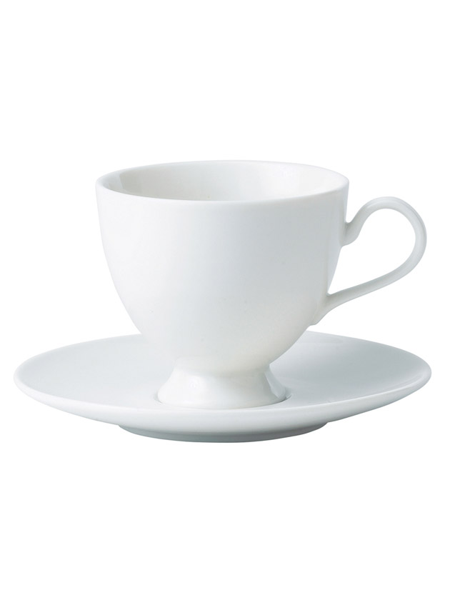 modern classic teacup and saucer