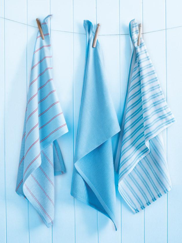 tea towel set –blue