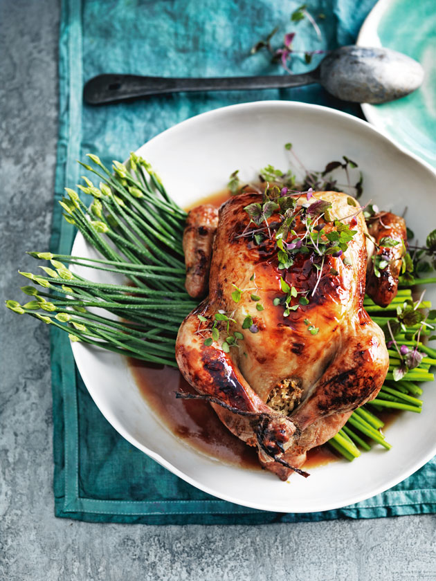 FAMILY FAVOURITE COCONUT AND LIME ROASTED CHICKEN