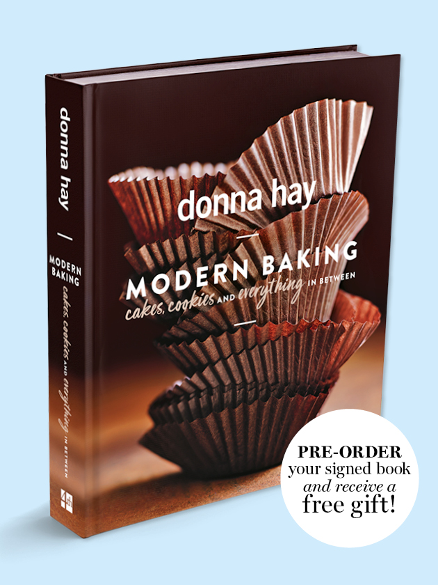 PRE-ORDER NOW! ODER YOUR SIGNED COPY OF MODERN BAKING AND GET A FREE GIFT!